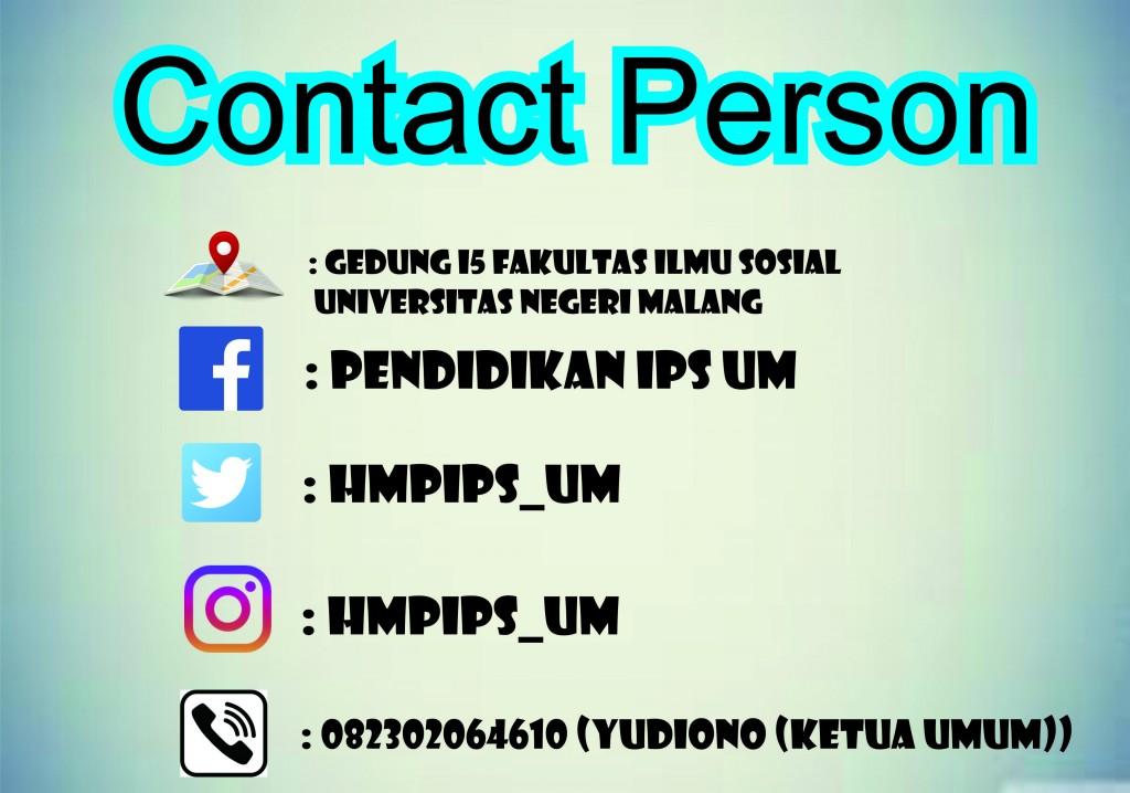 kontak person